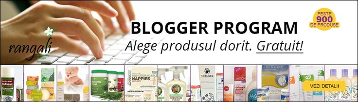 Ai un blog si vrei sa testezi gratuit cosmetice si alte produse BIO?