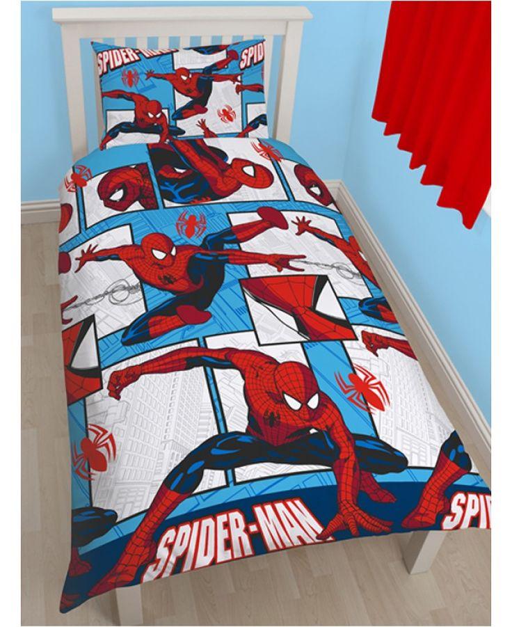 Spiderman Lightning Rotary Duvet Set