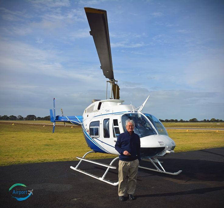This is a photo of Dick Smith after he had landed at Mount Gambier Airport one year ago. Just one of many famous people who have visited us; when will you come here?