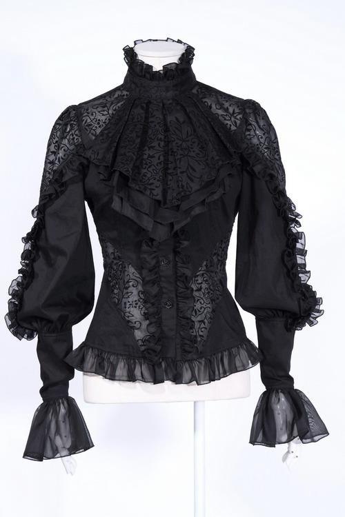 Gothic blouse