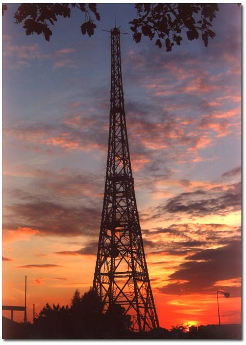 Gliwice radio tower.