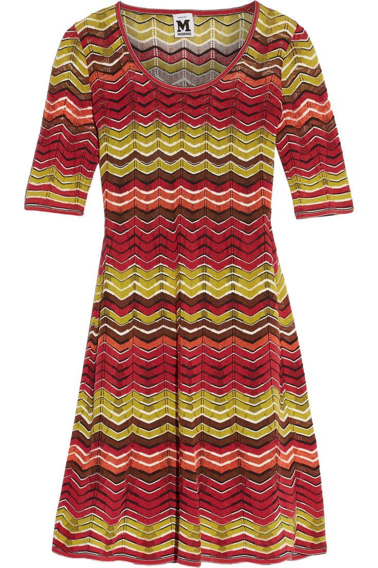 M MISSONI Crochet-Knit Mini Dress. #mmissoni #cloth #dress