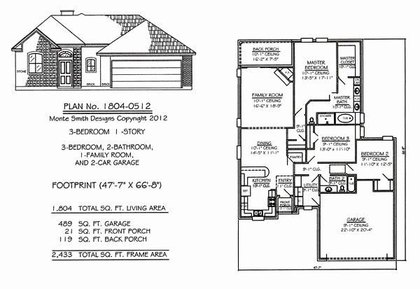 50 Foot Wide House Plans Inspirational Awesome Three Bedroom House Plans With Garage New Home In 2020 House Plans Australia House Plans South Africa Brick House Plans