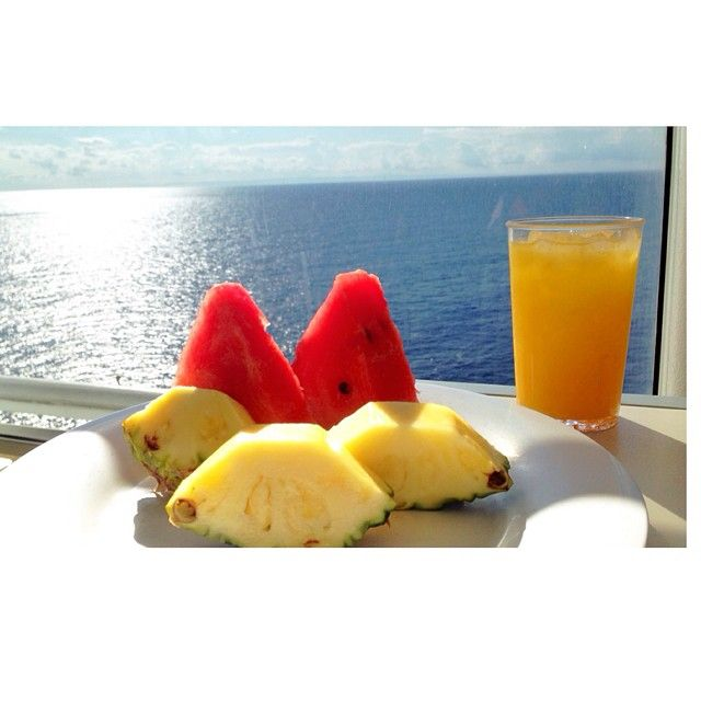 Breakfast of champions. #CruiseLikeaNorwegian #NorwegianEpic @ayala_itzhaki