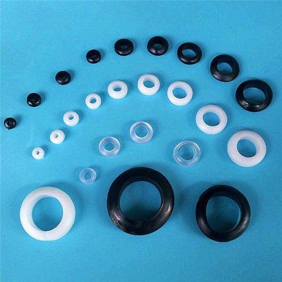 Rubber Silicone Grommet Mason Jar Cup Lid 3 30mm Round Food Grade Non 1 8 3 16 1 4 5 16 3 8 1 2 9 Mason Jar Cups Mason Jars Jar