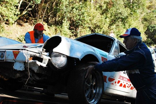 World Rallying. Targa Tasmania Car Race Crash | The Travel Tart Blog