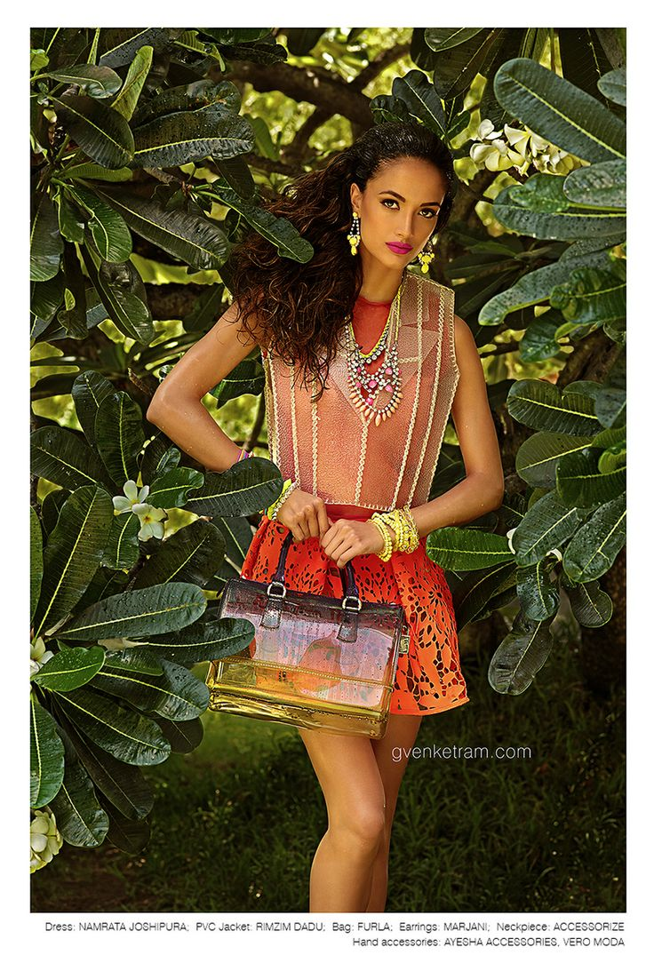 Monsoon Fashion I G Venket Ram  I Photography | Editorial | Namrata Joshipura I Rimzim Dadu I Furla I Marjani I Accessorize