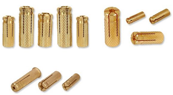 #Brassanchors  #BrassDropAnchors  #DroipinAnchors #BrassKnurledAnchors   We are one of the elading suppliers manufacturers form jamnagar of all types of Brass Anchors drop in anchors dowel plugs Drop anchors Door anchor fasteners etc.