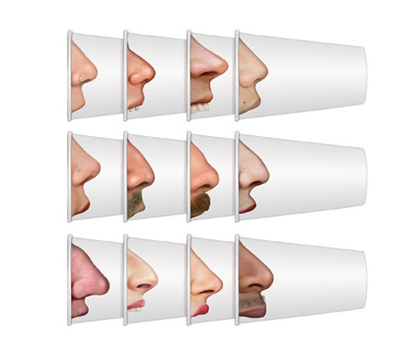 Pick Your Nose Cups- fun party idea