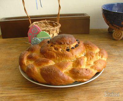 Easter milk loaf