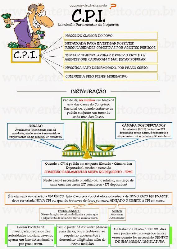 C.P.I.  ComissãO Parlamentar De InquéRito