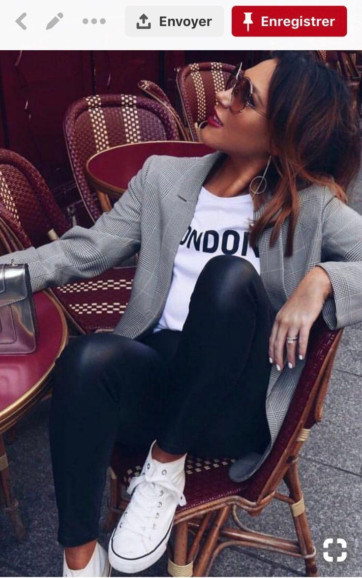 ❤️ Décryptage de tenue Pinterest : #6 Casual chic sur stylee.fr – #casual #…