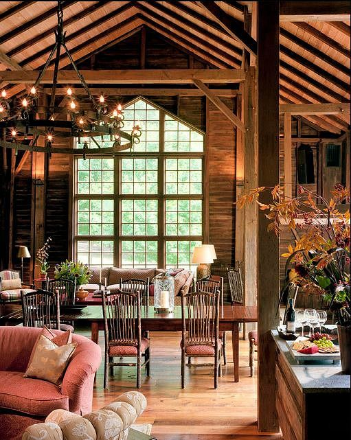 118 best Barn Homes images on Pinterest   Architecture, Cottages and Pole  barns