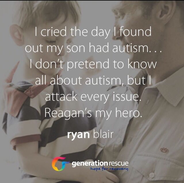 Ryan Blair. We all cry.