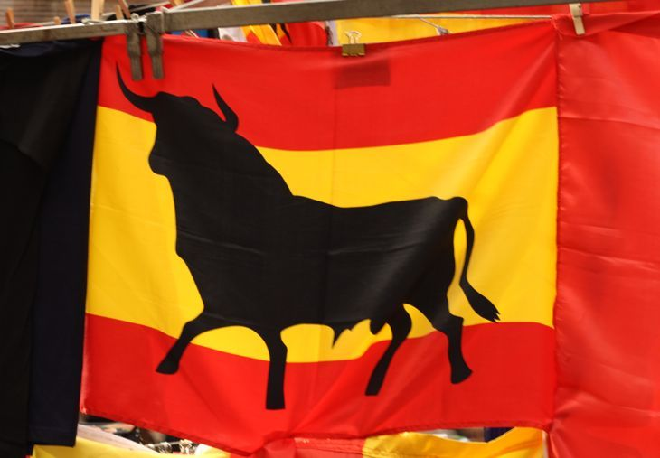 Spanish Pride - Things to Do in Madrid, Spain: http://www.ytravelblog.com/things-to-do-in-madrid/