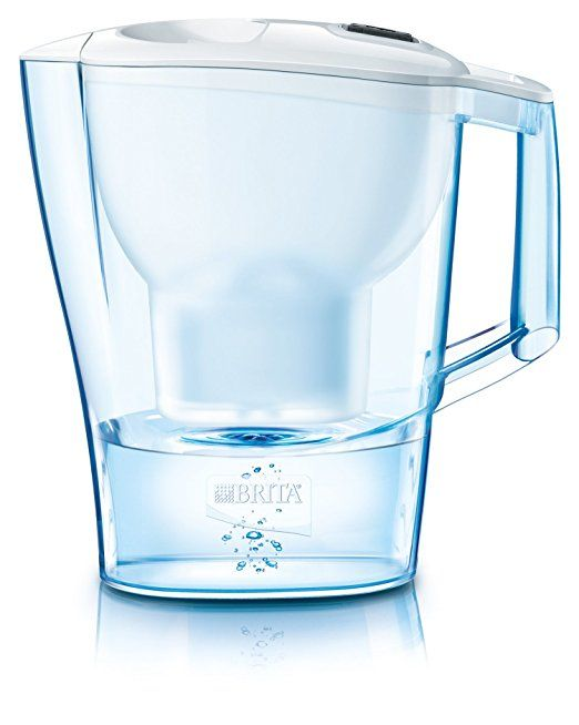 BRITA Water Filter Jug and Cartridge, White, MAXTRA