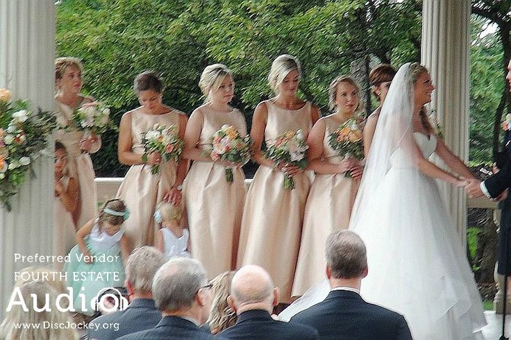 Brittany and her bridesmaids. http://www.discjockey.org/real-chicago-wedding-august-20-2016/