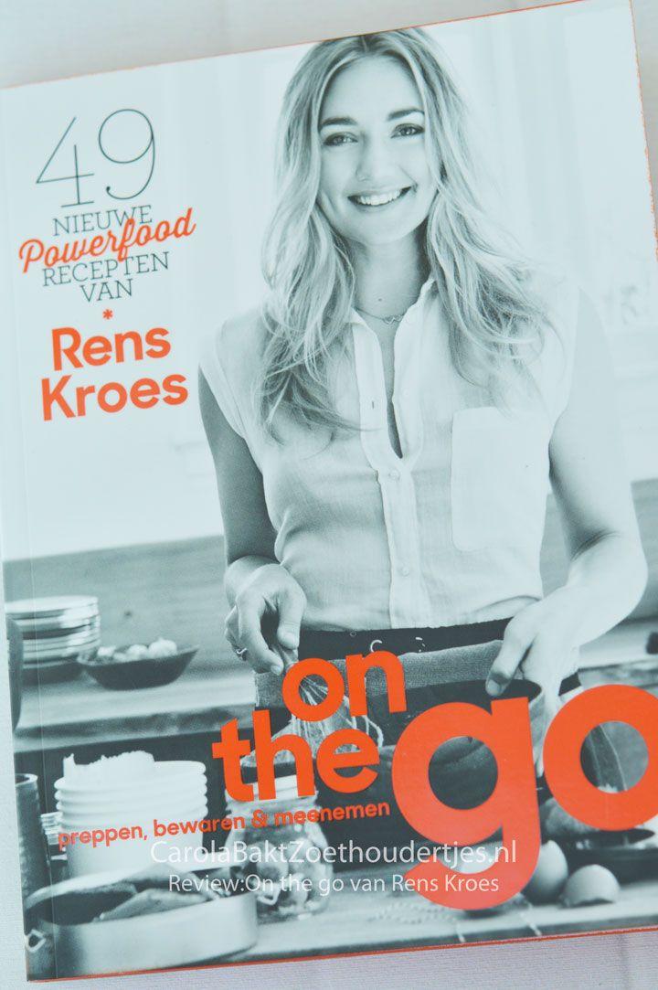 Review: Rens Kroes On the go  In het derde boek gaat de oven vaak aan! Yes, wat kun je meer verwachten? Je leest het in het review.