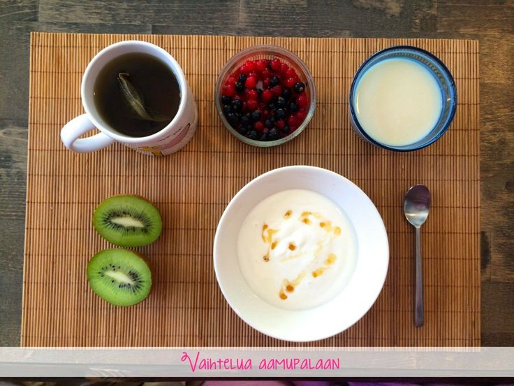 Aamupala, johon ei kuulu kaurapuuroa eikä rahkaa! :D