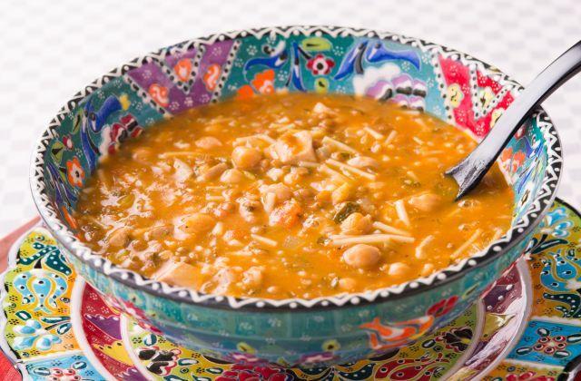 モロッコの優しいスープ「ハリラ」