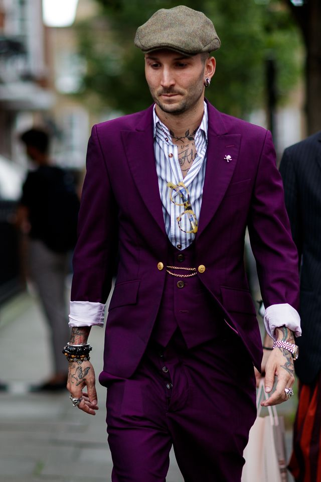 Not in purple but.. Street Style Archives - Page 2 of 194 - Best Dressed Man on the Planet