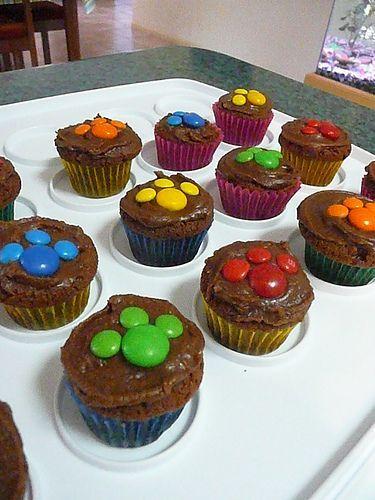 21 Paw Patrol Birthday Party Ideas - Paw Patrol Themed Cup Cakes