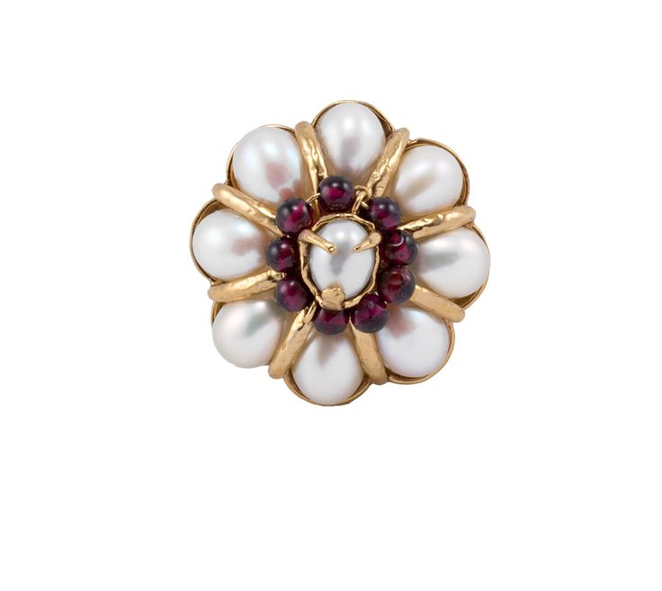 Bague Perles Baroques - Goossens Paris