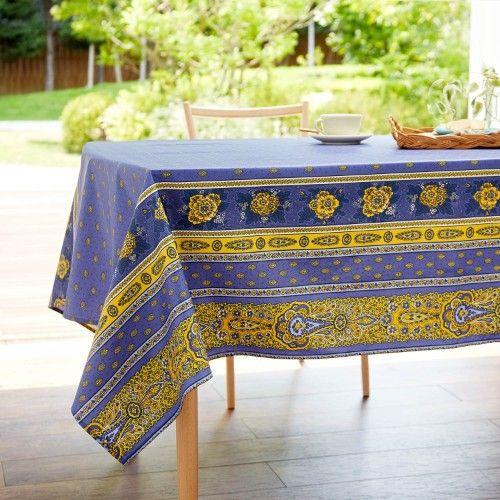 フランス|テーブルクロス 商品一覧 - 価格.com ... 目を惹くヨーロピアンデザインがおしゃれな、フランス製のテーブルクロス。青地に黄色で描かれた、花や装飾のデザインと、ビビッドな発色が魅力です。撥水加工付き ...
