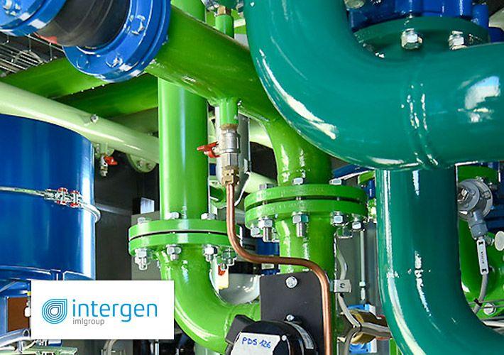 Nuova grafica responsive, nuove funzionalità e contenuti SEO per il sito di Intergen, azienda di riferimento nel mercato dell'energia da 70 anni