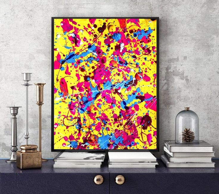 #Yellow #Abstract #Colorful #Painting #Rainbow #splash #Abstract #Rainbow #Pastel #AbstractArt #PrintableWallArt #INSTANTDOWNLOAD #Printable #Watercolor #AbstractPainting #Nursery #Decor #A4 #Print
