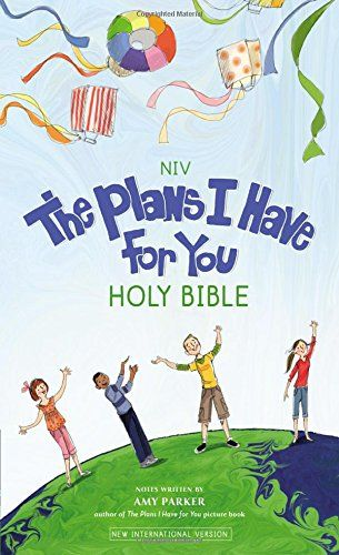 The Plans I Have For You Holy Bible (NIV) is a new children's Bible. There are a couple of cover options, but the one I am reviewing has...
