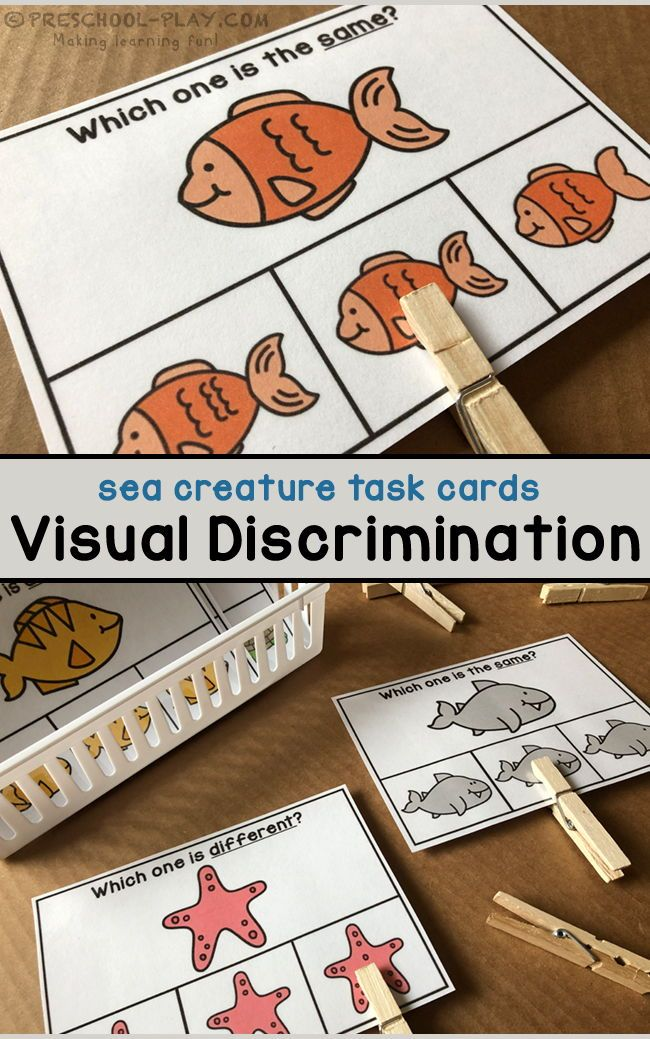 Printable Under The Sea Math And Literacy Activities Literacy Activities Preschool Literacy Activities Visual Discrimination