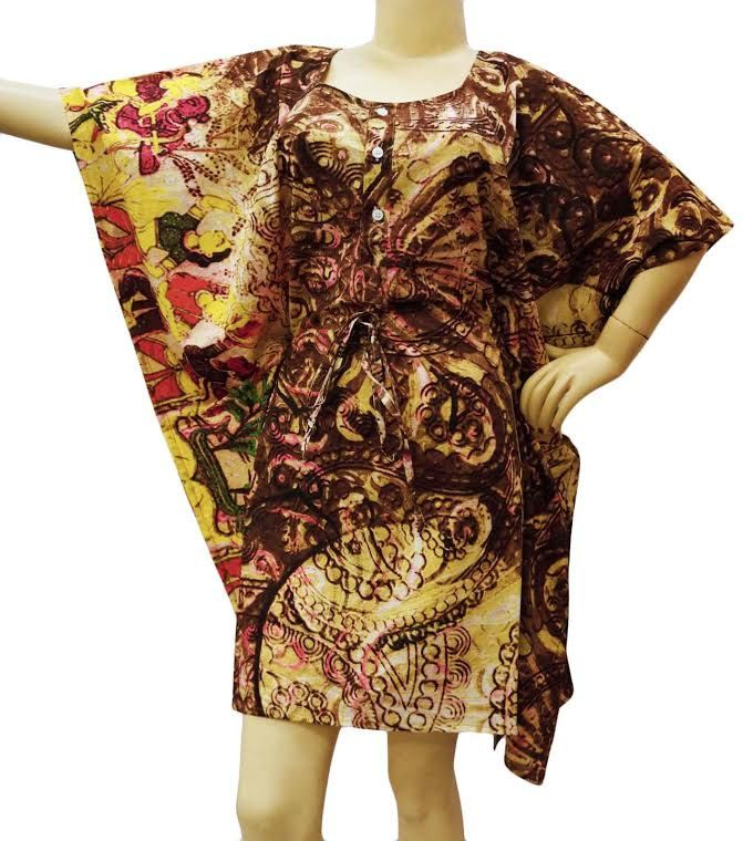 Beautiful   brown Dress Kafthan Caftan FREE or PLUS SIZE Gift for her mini summer dress- sleep wear robe Cafthan  hippie kafthan Best seller by colorfuloutlet on Etsy