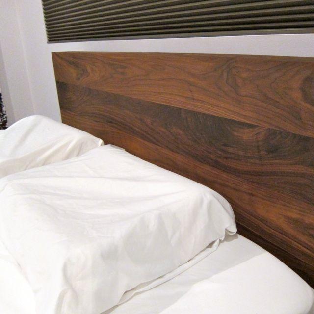 Solid Walnut Platform Bed - Hand crafted from American Black Walnut