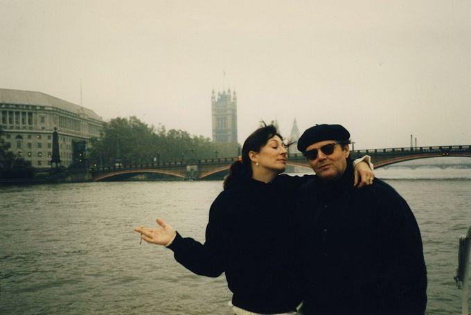 by Michael White Анжелика Хьюстон (Anjelica Huston) и Джек Николсон (Jack Nicholson)