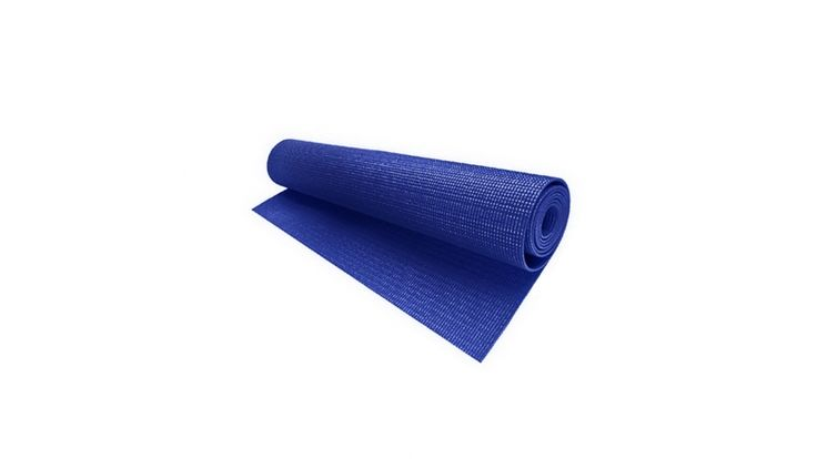 Blue Yoga Sports Mat for Nintendo Wii Fit