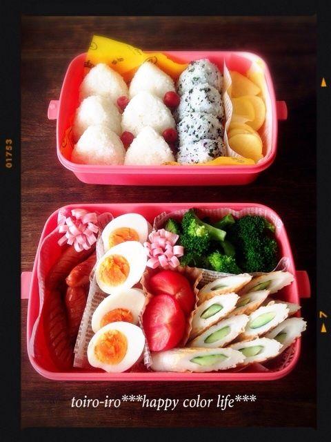 Japanese Rice Ball Bento