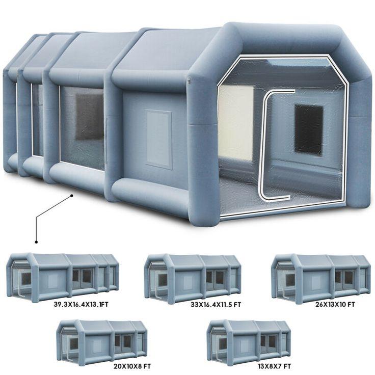 Cabine De Peinture Gonflable Geant 5 Tailles Tente Pour Pulverisation Voiture In 2020 Yurt Ebay Fitbit Surge