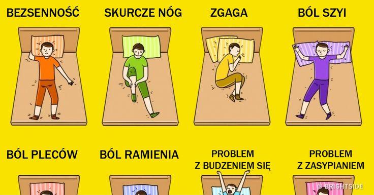 9 prawidłowych pozycji , dzięki którym pozbędziesz się tych popularnych problemów podczas snu...