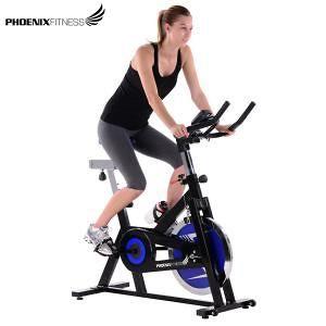 Phoenix Fitness Spin Bike with Hand Pulse 18kg Flywheel