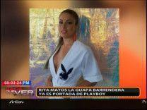 Rita Matos: La Joven Que Pasó De Ser Barrendera A Estar En La Portada De Playboy #Video