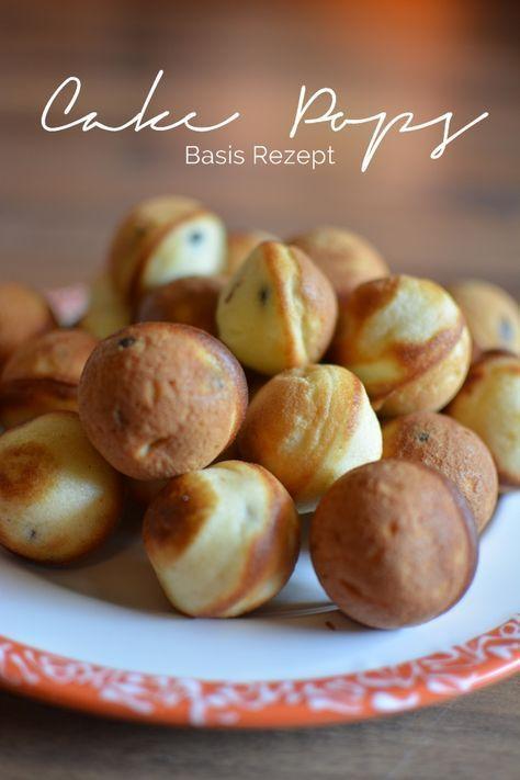 Cake Pops Basic Recipe Rezept