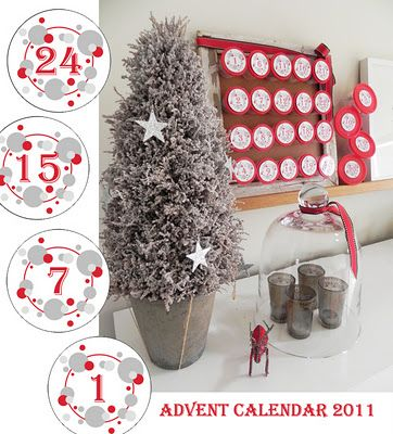 Advent Calendar and free printable