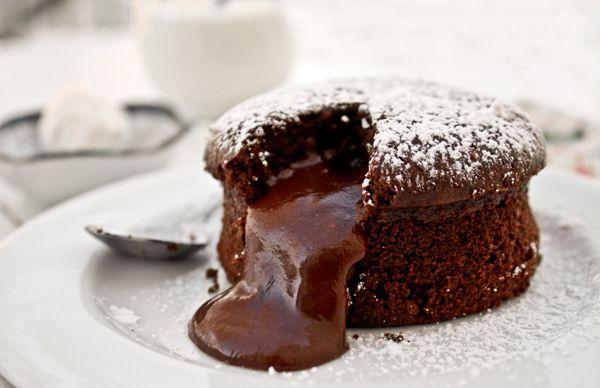 ★♥ ✤Fondant au chocolat : recette facile pour étudiant fauché et/ou flemmard