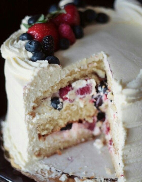 Berry Chantilly cake originated out of Hawaii.Publix has one and I need it
