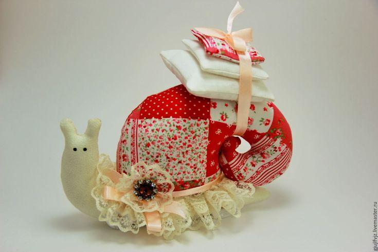Купить Улитка Тильда - комбинированный, улитка Тильда, улитка, улиточка тильда, улитка в подарок