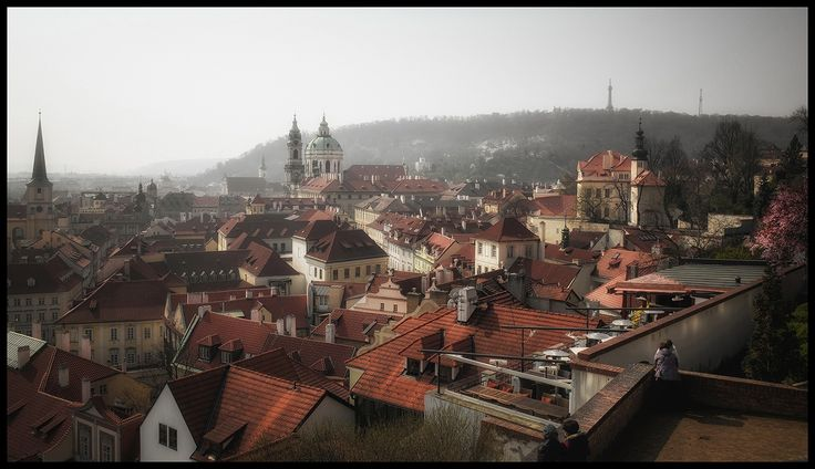 Prague roofs by Václav Verner on 500px