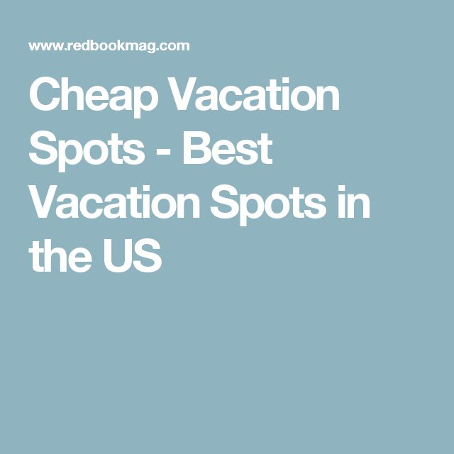 how to get cheap vacations