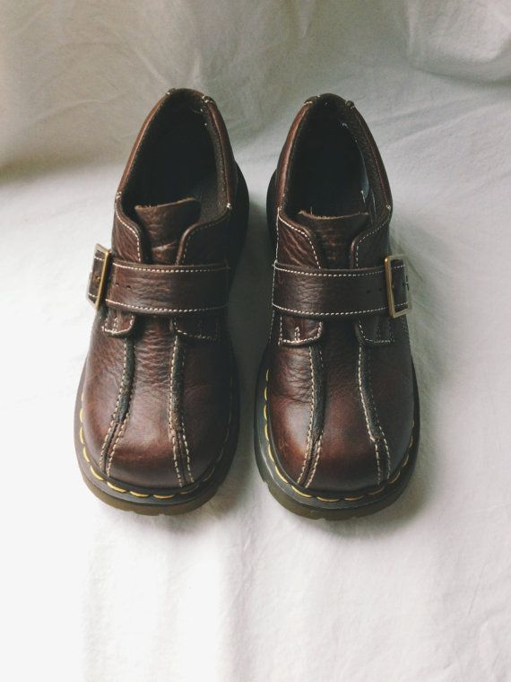 Brown Doc Martens - Brown Dress Shoes - Loafers - Size 7 - 7.5