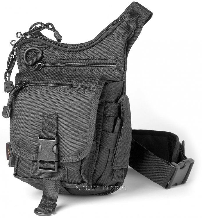 Cargo Urban Concealed Carry Shoulder Bag Craft Holsters Bags